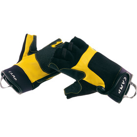 Camp Pro Fingerless Gloves black/yellow